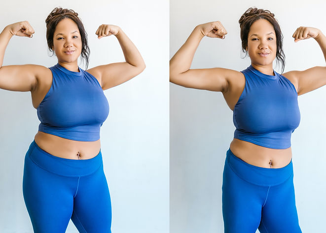 Weight Loss Retouching