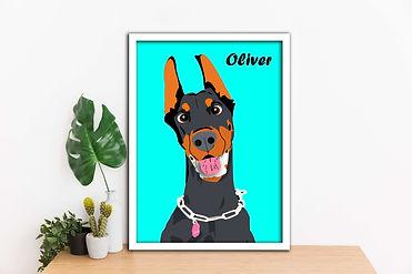 Pet cartoon Wall Art compressed.jpg