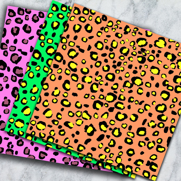 Leopard Pattern Seamless