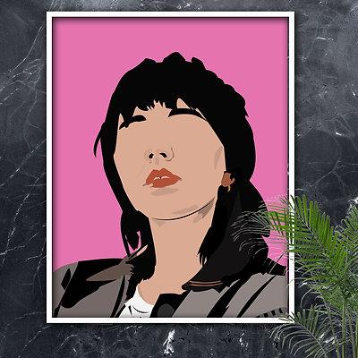 Custom Digital illustration Portrait