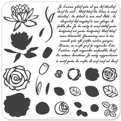 Simple Rose & Script