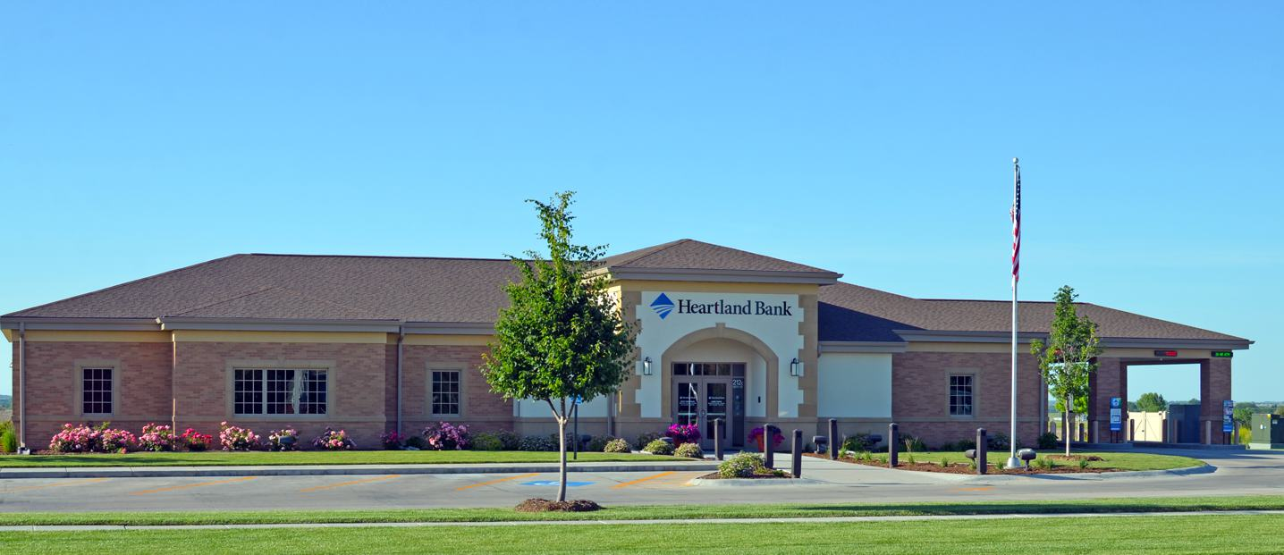 Heartland Bank - Brown Construction, Kearney, NE