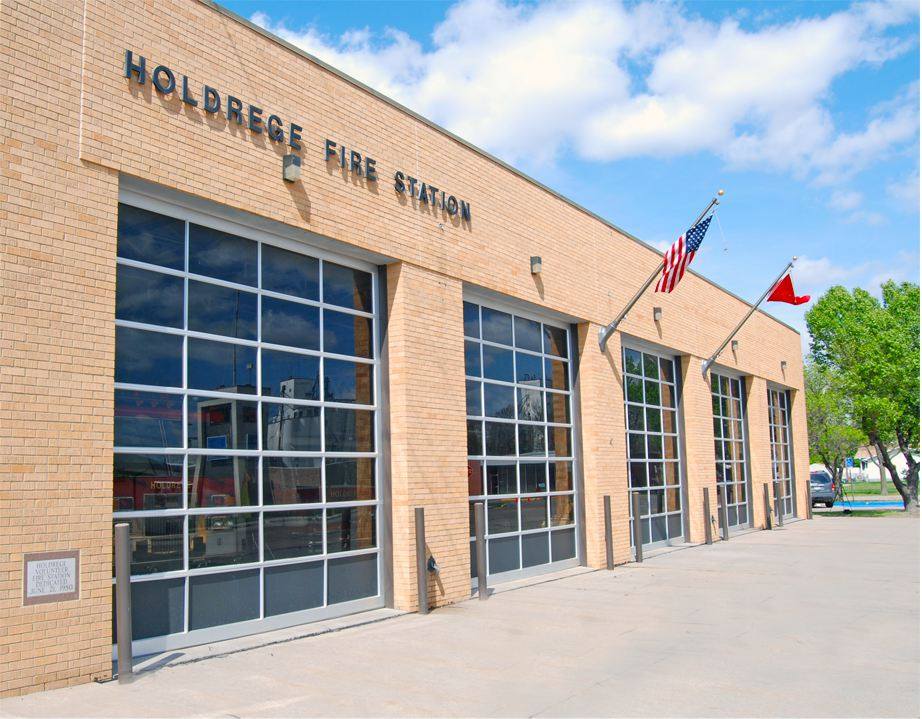 Holdrege Fire Station - Brown Construction, Holdrege, NE