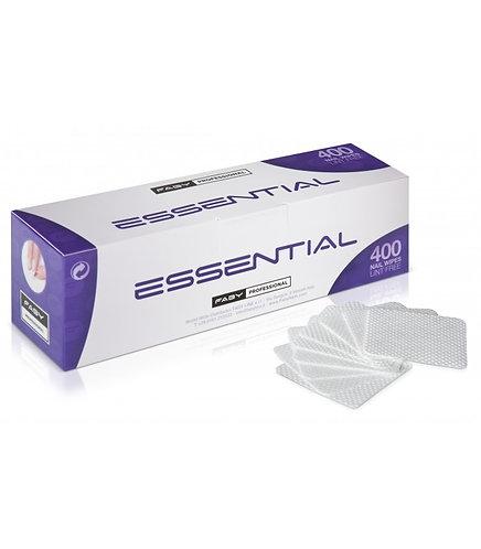Cuadros Quitaesmalte libres de fibras Essential Nail Wipes Faby
