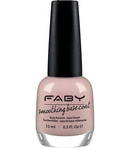 Base Coat Desniveles smoothing Faby 15ml