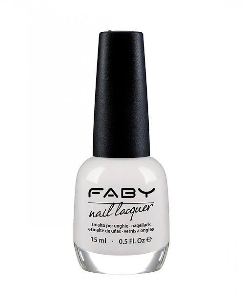 Esmalte Optical White Faby (cream)