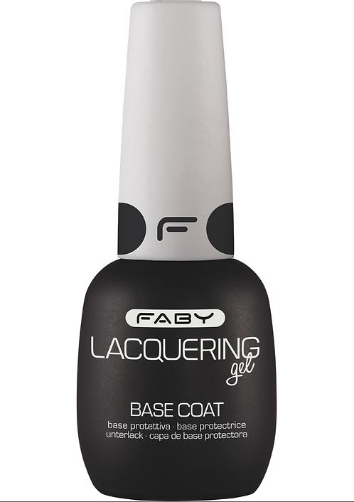 Base coat esmaltado permanente Faby
