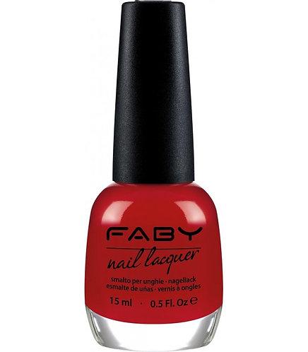 Esmalte Faby's Red