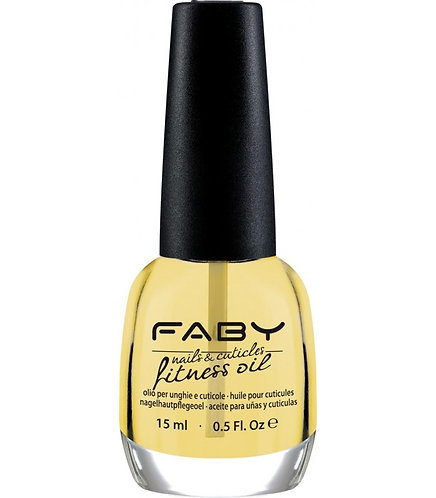 Aceite Cutículas Nail & Cuticle Fitness Oil Faby 15ML