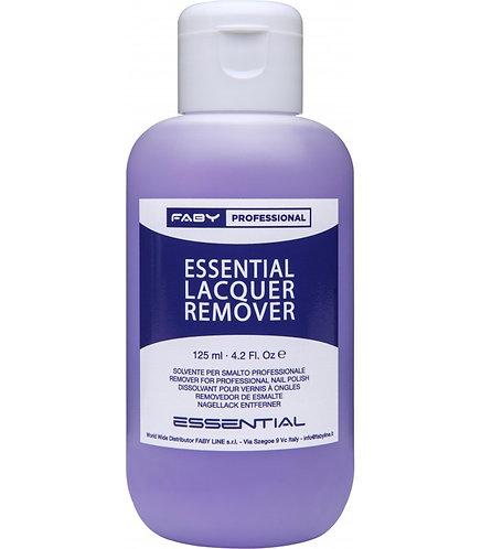 Removedor esmaltado permanente Essential Lacquer 125ml Faby