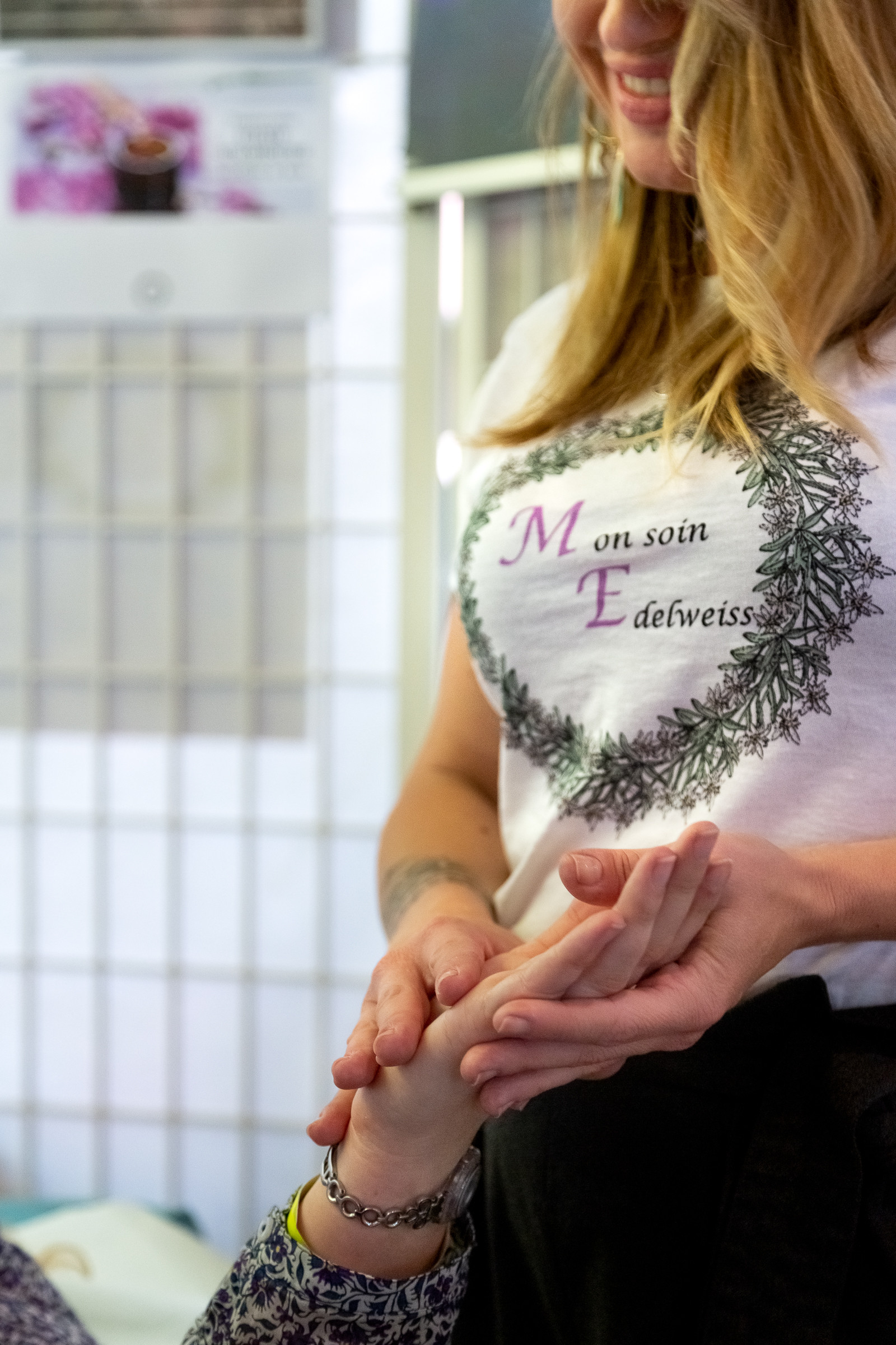 Mon soin Edelweiss (réflexologie douce)