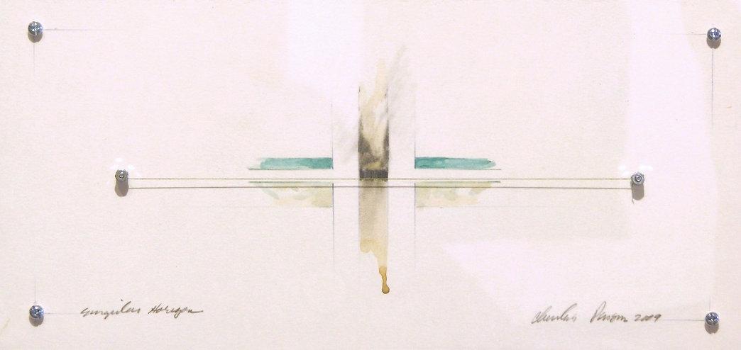 Charles Parson | Singular Horizon | dimensional drawing