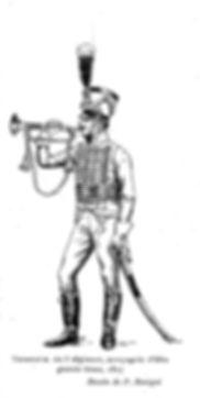 Trompette du 3ème Régiment de Hussards