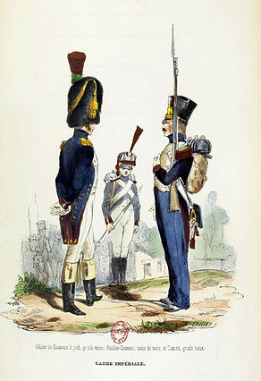 Grenadier à pied