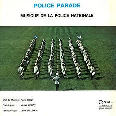 Pierre Bigot, Musique de la Police Nationale