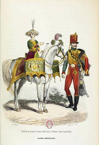 Chasseur à cheval de la jeune Garde