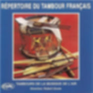 Robert Goute Répertoire tambour