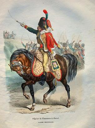 H. Bellangé Officier de Chasseurs à cheval