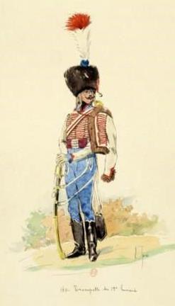Trompette du 11ème Régiment de Hussard