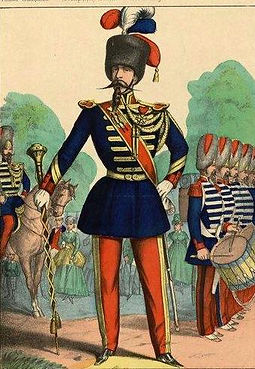 tambour-major infanterie légère