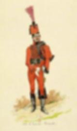 Trompette du 8ème Régiment de Hussard