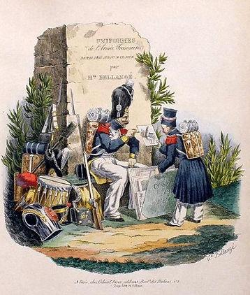 H. Bellangé Uniformes Empire