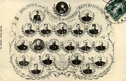 Musique Garde Républicaine.