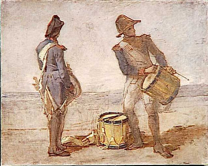 Jeunes Tambours Thomas COUTURE 1815 1879
