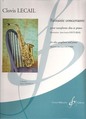 Clovis LECAIL Fantaisie Concertante