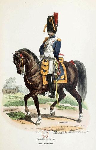 H. Bellangé Grenadier à cheval