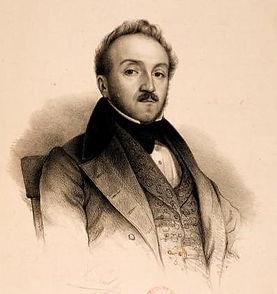 FGA Dauverné portrait (1835)