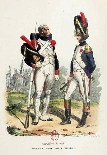 H. Bellangé Grenadier à pied.