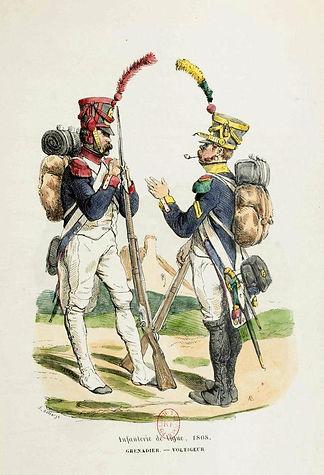 H. Bellangé Infanterie de ligne.