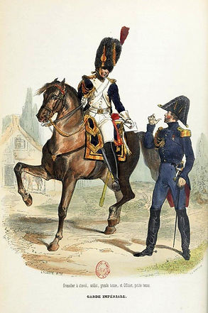 Grenadier à cheval Garde Impériale