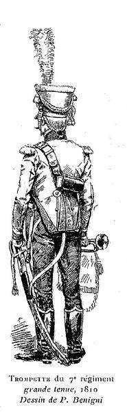Trompette du 7ème Régiment de Hussards