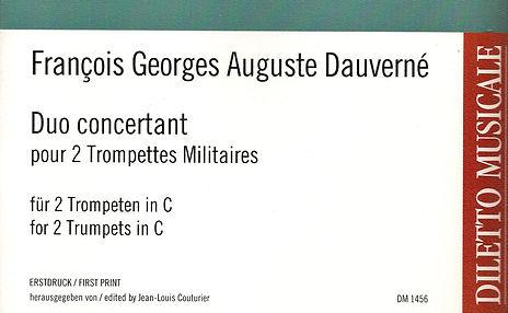 FGA Dauverné :Duo concertant pour 2 Trompettes