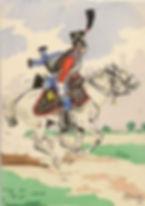 Trompette 1er Hussards