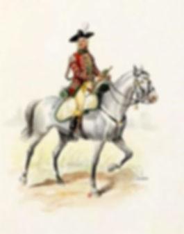 Trompette Hussards de Saxe