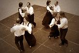 danse de sets Irlandais lors d'une Démo