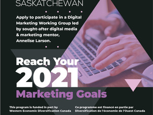 Applications Open for Digital Marketing Strategy Working Group w/Annelise Larson