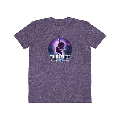 You are Perfect Exactly As you Are - Unisex Heather Purple 5D T-Shirt