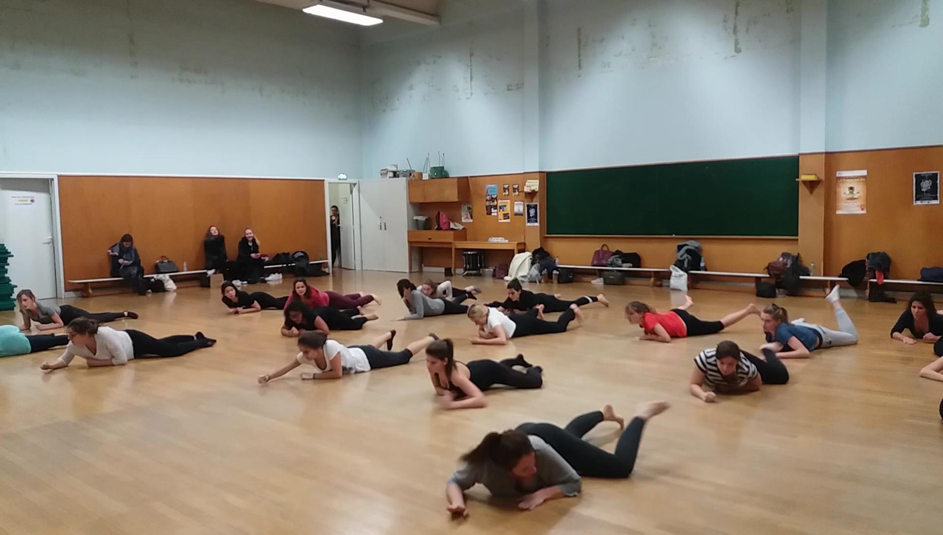 ateliers danse