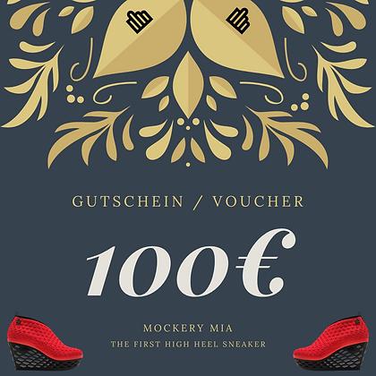 100€ Gutschein |  Voucher