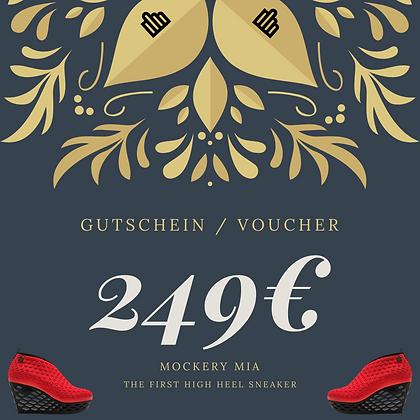 249€ Gutschein |  Voucher