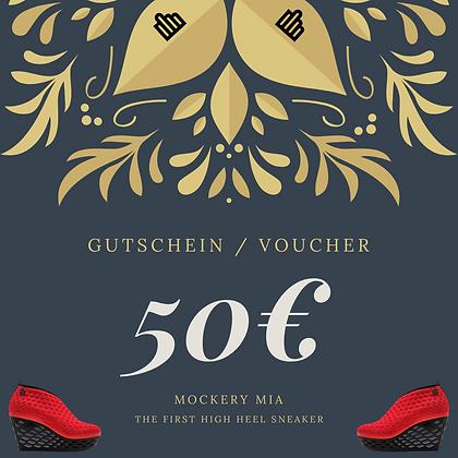 50€ Gutschein |  Voucher