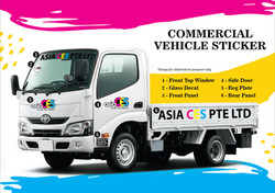 Commercial Vehicle Sticker / Wrap