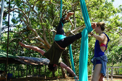 Aerial Silks in Guanacaste, Costa Ri