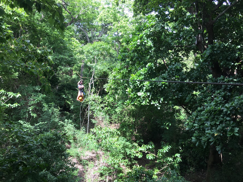 Zip Lining in Guanacaste, Costa Rica