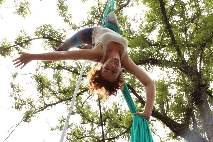 Aerial Silks in Guanacaste, Costa Ri