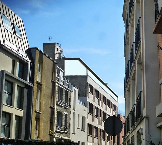 surélévation et urbanisme: dessiner la ville